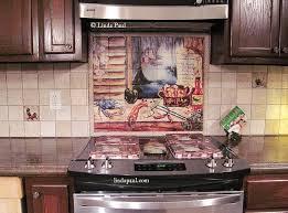 brilliant louisiana kitchen tile backsplash cajun art tiles regarding decorative tile backsplash