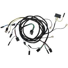 mustang wiring harness headlight to firewall 1966 cj pony parts wiring harness headlight to firewall 1966