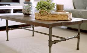 Industrial Pipe Coffee Table Sonder Sky Furniture Clothing Co