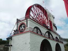 water steam power industrial revolution 1700 1850 water wheel industrial revolution
