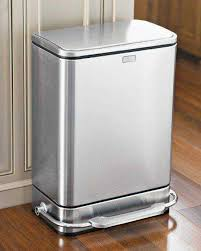 stainless steel kitchen trash can. Stainless Steel Kitchen Trash Can Entranching 30 Gallon At Stunning Design Gallery Room N
