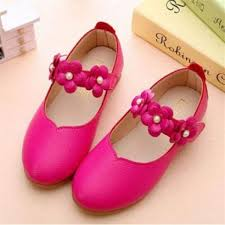 cute baby girl s child s kid s princess toddler flat kids school casual leather shoes i110 rose