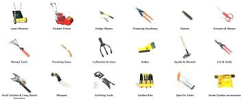 garden tools names interior basic gardening and their uses with pictures beneficial ideal