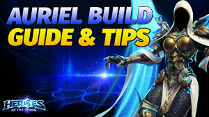 Heroes of the Storm Auriel Guide, Build ...