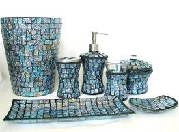 blue glass bathroom accessories. Good Blue Bathroom Accessories For Glass T