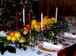 Buffet Table Decorations Ideas Christmas Buffet Table Decorations