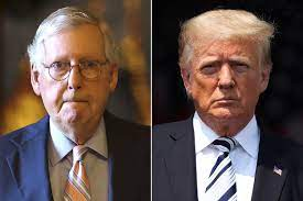 Mitch McConnell Laughs Off Trump's 'Old ...