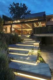 artistic outdoor lighting. outdoor stair lighting inspiration by casa lomas ii paola calzada arquitectos artistic