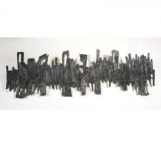 pewter wall sculpture by pia manu