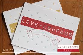 Make Your Own Love Coupon Notepad Free Download Kiki