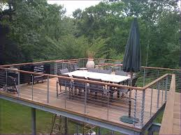 Balcony Fence outdoor ideas deck fencing options deck railing cap ideas 1151 by xevi.us