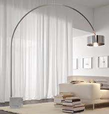 Floor Lamp:Modern Shades Ikea Chrome Metal Bright Large Floor Lamps  Contemporary Living Room Lighting