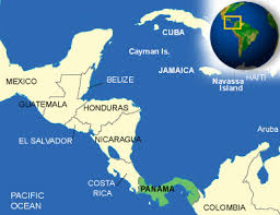 Image result for panama map