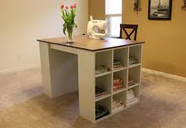 Diy office table Wooden Create Project Table Its The Best Of Both Worlds Ample Workspace And Easy Storage Build The Cubby Bookshelves Alone Or Add The Project Tabletop Mstoyanovinfo Ana White Cubby Bookcases Modular Office Collection Diy Projects