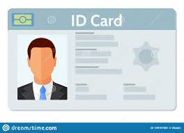 Flat Of Style 139157681 Id Design Identity Background Design Card - Illustration Vector Stock