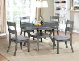 juniper gray round dining room set kitchen table ideas