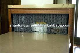 fireplace curtain screens mesh screens