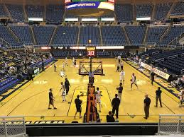 West Virginia Basketball Arena Seating Chart Wvu Coliseum Section 115 Rateyourseats Com