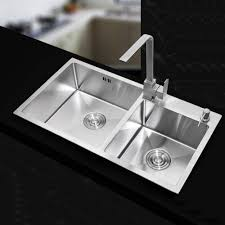 Double Undermount Sink With Drainer Inianwarhadi