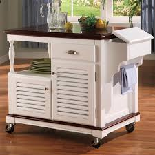 attractive rolling kitchen cart with drawers kitchen kitchen carts and islands ideas using oak wood rolling