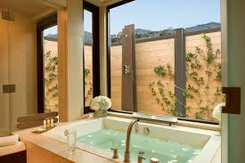 Spa Bathroom Suites Bardessono Hotel Spa Napa Valley Yountville Steam Spa Suite Rooms