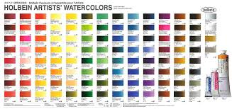 Holbein Artists Watercolors Set Of 24 5ml Tubes W405