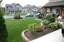 Landscaping Ideas With Low Maintenance Landscape For Front Of House The  Garden