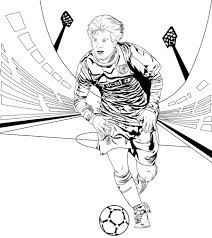 Soccer Coloring Pages Messi Guy Pinterest Elegant 8201060