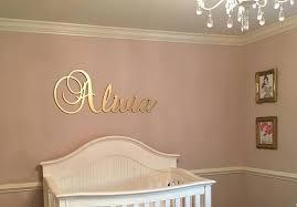 nursery wall decor wooden name