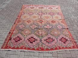 afghan maimana kilim rug 6 7 x 9 8