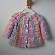 Free Baby Knitting Patterns Magnificent Little Jamboree Free Cardi Knit Pattern For Baby Free Baby Knitting