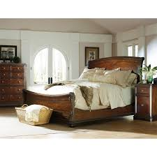 Sleigh Bed Bedroom Furniture Stanley Furniture 128 Continental Bedroom King Sleigh Bed