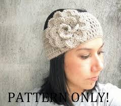 Crochet Flower Pattern For Headband Stunning Crochet Flower Pattern For Headband Crochet And Knit
