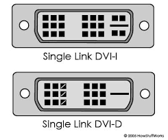 analog and dvi connections how computer monitors work dvi connection