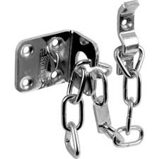 sterling sterling heavy duty door chain chrome plated