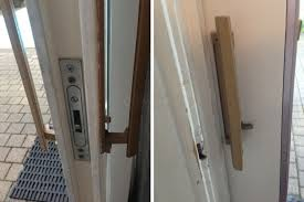 old sliding patio door locks