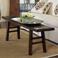 small coffee table. Bench As A Small Coffee Table...likey. Table