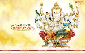 Riddhi Siddhi Ganesh HD Wallpaper for ...