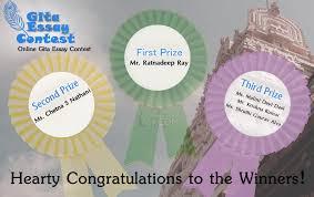 gita essay contest results iskcon times gita essay contest 2016 results