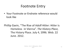 Part Four The Writing Process References And Citations Ppt Download