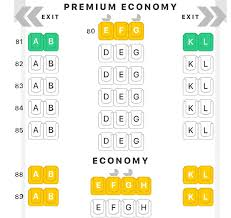 Air France A380 800 Seat Chart The Definitive Guide To Air France U S Routes Plane Types