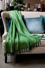 best  green blanket ideas on pinterest  knitted throw patterns