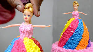 Barbie Doll Birthday Cake Design How To Make A Cake Decorating At