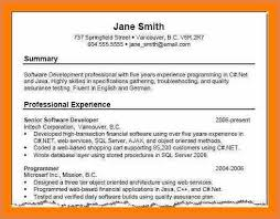 13 Sample Summary Statements For Resumes Notice Paper