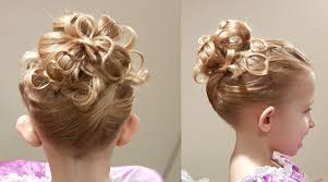 Childrens Hair Style cute chain updo princess hairstyle cute girls hairstyles 6606 by wearticles.com