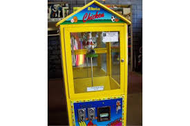 All American Chicken Vending Machine Delectable ALL AMERICAN CHICKEN CAPSULE VENDING MACHINE Item Is In Used