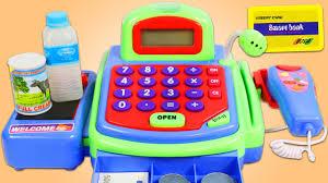 Pretend <b>Toy Cash Register</b> Playset! - YouTube