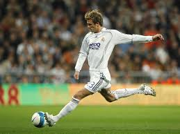 Image result for david beckham playing football