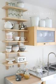 Kitchen Storage Shelves Ideas 27 Best Open Shelving Ideas Images On Pinterest Kitchen Shelves