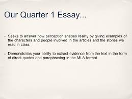 mla direct quotes paraphrasing today you will need warm up our quarter 1 essay